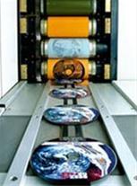 چاپ افست سی دی و دی وی دی