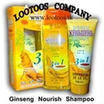 درمان قطعی ریزش مو با شامپو جنسینگ