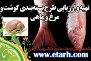 ارائه طرح توجیهی بستهبندی گوشت و مرغ و ماهی
