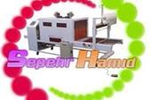 طراحی و ساخت ماشین آلات بسته بندی شرینگ پک