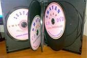 پخش مستقیم قاب DVD وسی دی قابل چاپ از کارخانه