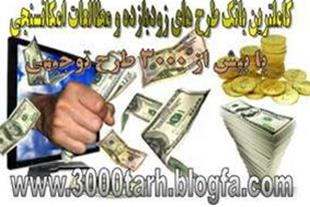 کاملترین بانک طرح توجیهی با 3000 عنوان طرح توجیهی