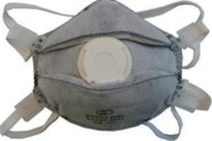 ماسک سوپاپ دار کربنی ffp3 مدل 8636