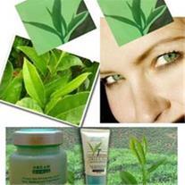 ست کامل کرم روشن کننده سفید کننده گیاهی چای سبز هم