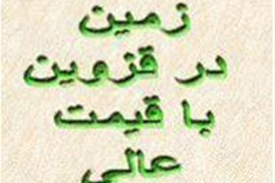 فروش فوری زمین در قزوین (تاکستان) سند منگوله دار.