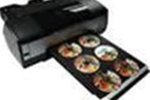 چاپ دی وی دی  بهمراه  UV   ( چاپ 8 رنگ دیجیتال DVD - 1
