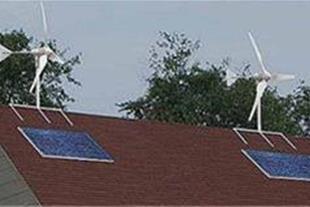 انرژِی خورشیدی و بادی