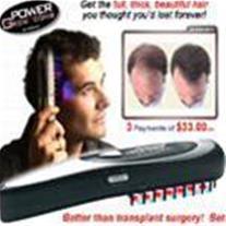 برس جادویی تقویت موی سر POWER GROW پاور گراو جدید