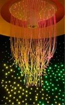 نور پردازی حرفه ای با فیبر نوری و led