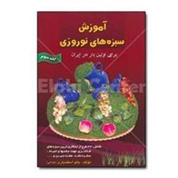 کتاب های آموزش سبزه های نوروزی جلد 3 در فادیاشاپ
