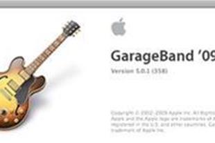 آموزش ساخت موسیقی با نرم افزار GarageBand'09