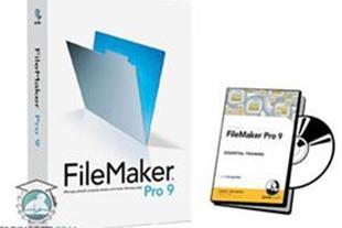 آموزش نرم افزار مدیریت دیتابیس FileMaker Pro 9