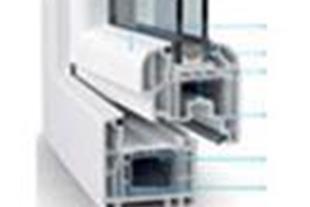 درب و پنجره دو جداره UPVC کسری