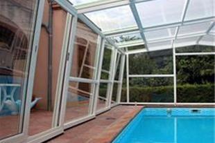 سیستم پوشش سقف متحرک و ثابت استخر