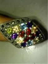 انگشتر زنانه توپاز
