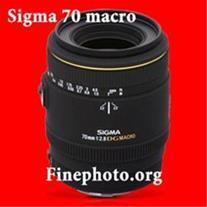 لنز سیگما ماکرو 70