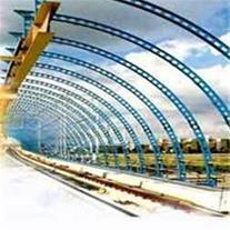 ساخت حمل و نصب اسکلت ساختمان و سوله