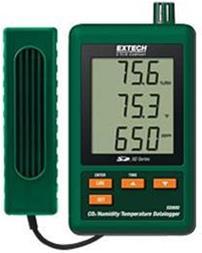 ثبت کننده دما ، رطوبت ، گاز دی اکسید کربن SD800 - 1