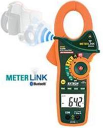 پخش مولتی متر کلمپ  و حرارت سنج  EX845 - 1