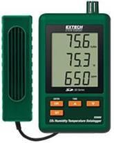 انواع دیتالاگر دی اکسید کربن ،رطوبت و دما SD800//