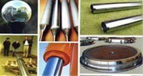 خدمات آبکاری کروم سخت نوئل و سنگ محور - 1