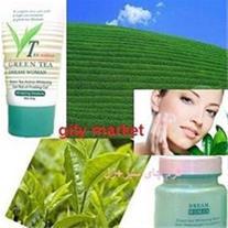 کرم روشن کننده پوست و ضد پیری چای سبز/ گیتی مارکت