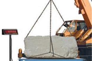 باسکول فلزی صنعتی ( قله سنگ کش / توزین فلزات )