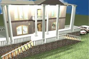 نقشه کشی و طراحی سه بعدی ساختمان