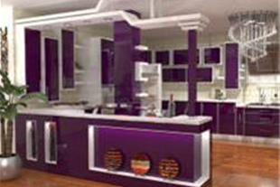طراحی و اجرای کابینت آشپزخانه 3D max
