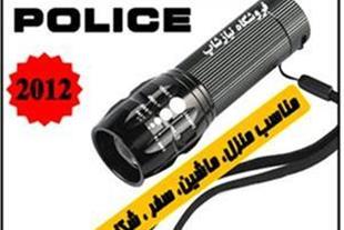 چراغ قوه police اصل مدل BCT-8400 با کیف و جعبه