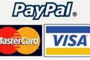 خدمات پرداخت اینترنتی (کردیت کارت ، پی پال )