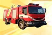 کپسول و تجهیزات خودرو آتشنشانی و سیستم اعلام اطفاء