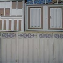 انواع قاب فلزی جهت ساخت درب حیاط ،پارکینگ ،مغازه