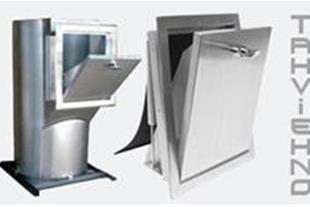 شوت زباله شوتینگ زباله ساختمان - کانال سازی صنعتی