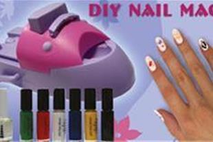 دستگاه طراحی ناخن دی نایل مجیک diy nail magic