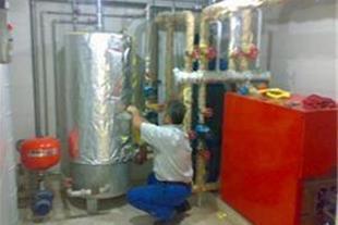 اسید شویی منبع کویلی و مبدل صفحه ای آبگرم مصرفی