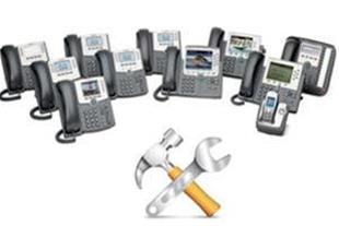تعمیر گوشی های تلفن IP و تجهیزات VoIP