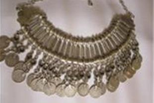 گردن بند زنانه 24 سکه نقره بی نظیر