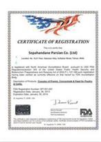 CE  مارک  ، FDA امریکا ، ایزو9001 ، آموزش ایزو