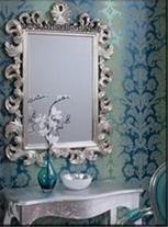 قاب آینه چوبی منبت