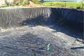 احداث استخرهای آبیاری پلی اتیلنی با ژئوممبراین