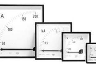 انواع پنل متر آنالوگ ، ولت متر ، وات متر آمپرمتر