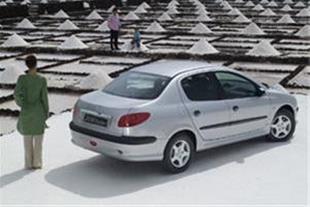 فروش نقدی پژو 206 اس دی V8 (تحویل یکساعته )