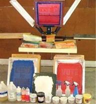 دستگاه چاپ سیلک اسکرین اتومات و دستی