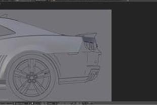 آموزش مدل سازی یک اتومبیل اسپرت درBlender