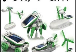 اسباب بازی 6 کاره خورشیدی اصل بدون باتری و برق