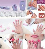 طراحی زیبای ناخن هایتان ..........