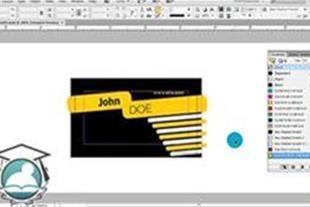 آموزش طراحی کارت ویزیت با نرم افزار InDesign