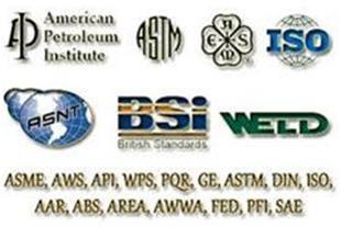 استاندارد-STANDARDمجموعه استانداردهای صنعت جوش