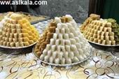 شیرینی یزدی برای مجالس عروسی ، سفره عقد و جشن ها